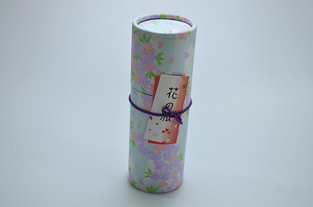 【奥野晴明堂】和柄 スタンドタイプ 桜 円筒形