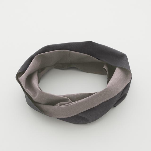 【竹野染工】手ぬぐいOo(ワオ)Rosybrown × Slate gray Lサイズ
