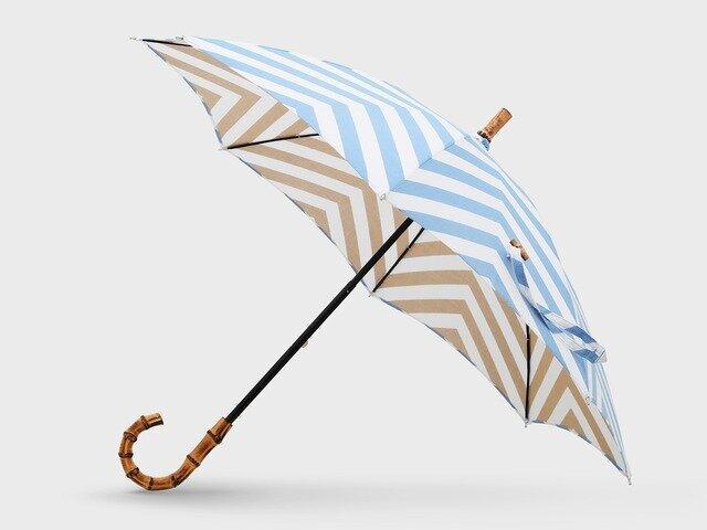 【竹野染工】手ぬぐい日傘 山眠る
