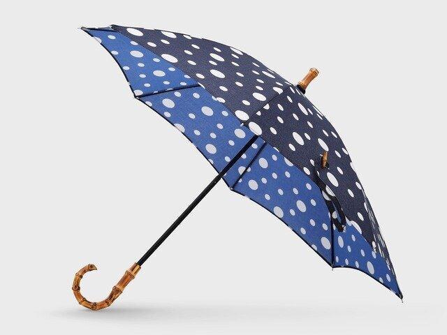【竹野染工】手ぬぐい日傘 雪あられ