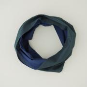 【竹野染工】手ぬぐいOo(ワオ)Blue × Green Lサイズ