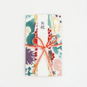 【にじゆら】祝儀袋(花結び)bouquet赤