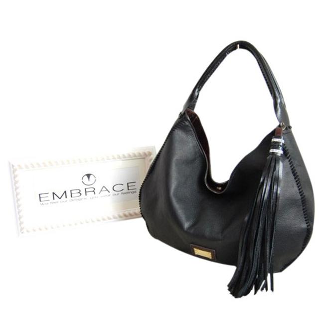 EMBRACE(エンブレイス)カーフレザー ハンドメイドバッグ EB-7313