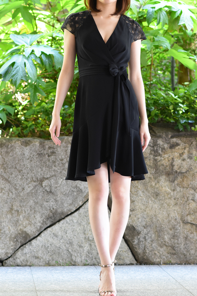 Lace Ruffle Black Dress【2泊3日】
