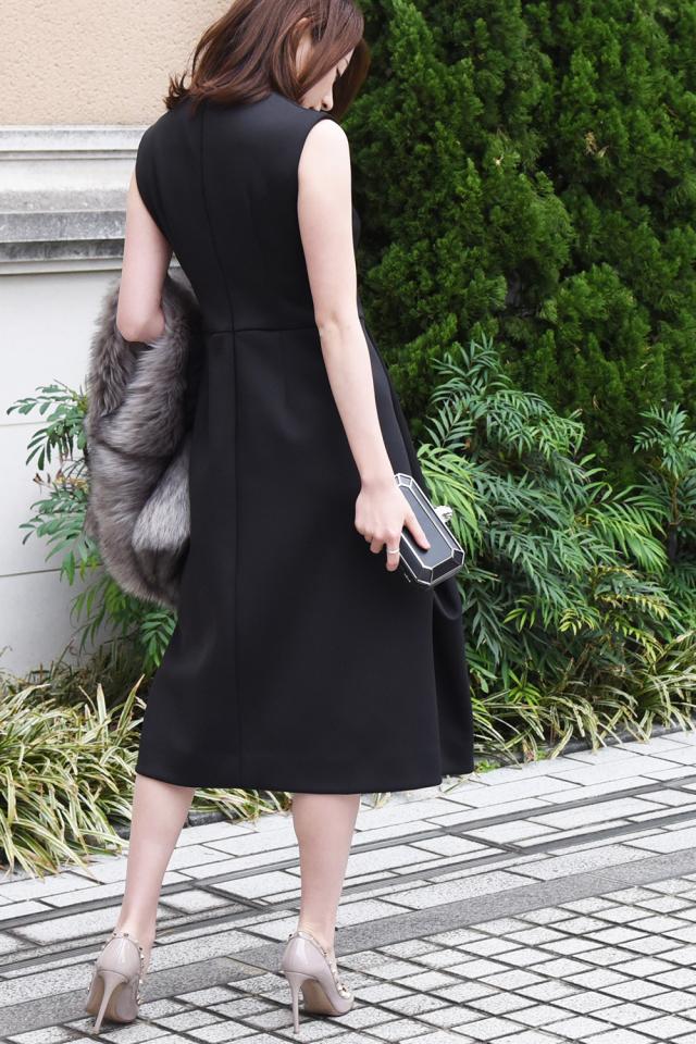 Black midi dress【2泊3日】
