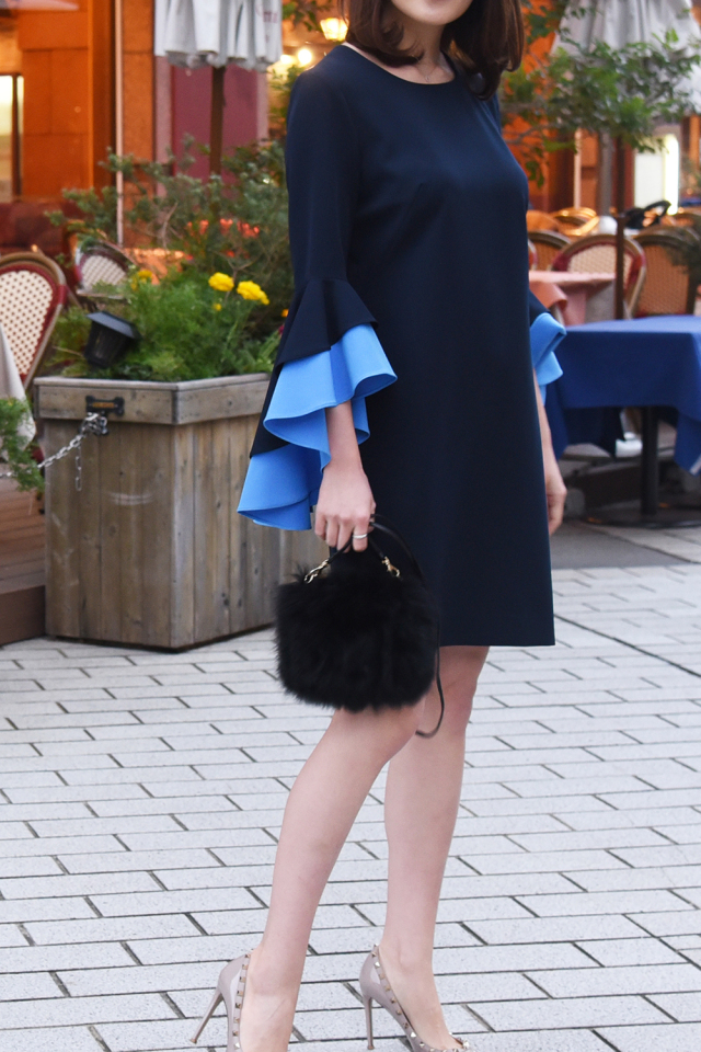 Ruffle Sleeve Dress【2泊3日】