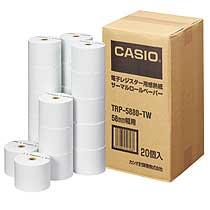 カシオ 電子レジスターロールペーパー(サーマルプリンタ) TRP-5880H-TW 高保存