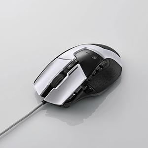 エレコム 13ボタン搭載ハイスペックゲーミングマウス M-G02URWH