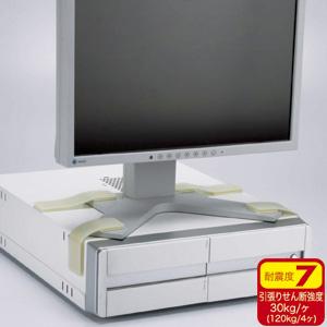 サンワサプライ 耐震ディスプレイガード QL-03