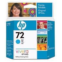 HP HP72 インクカートリッジ シアン(69ml) C9398A