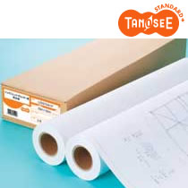 TANOSEE IJプロッタ用 再生紙 A2ロール 420mm×50m 2本/箱 IJSS70A2F