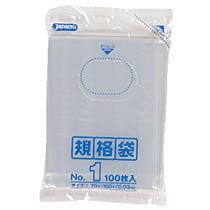 ジャパックス 規格袋 No.1 100枚入 K-01