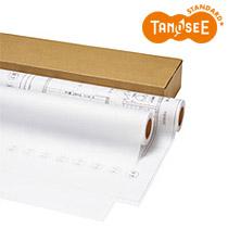 TANOSEE インクジェットプロッター用紙 トレペ80g A1ロール 594mm×50m 2本入 IJTT80A1S