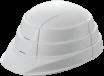 収納式ヘルメット オサメット ホワイト