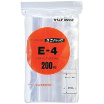 セイニチ ユニパック 0.04×100×140mm 200枚入 E-4