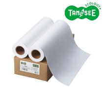 TANOSEE インクジェット用普通紙(FSC認証紙) 420mm×50m 2本/箱 IJRJEF420A