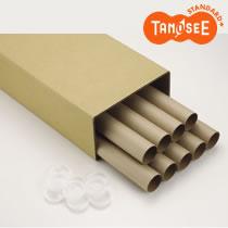 TANOSEE 製図用紙管(ポリ蓋付き) B1(950mm) 9本入