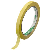 NICHIBAN (まとめ)バッグシーリングテープ 9mm×50m 黄 20巻 540Y