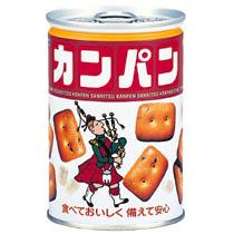 三立製菓 缶入カンパン 100g 734632 1ケース(24缶)