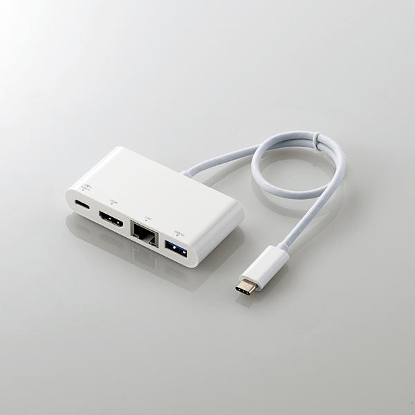 エレコム DST-C09WH USB Type-C接続ドッキングステーション(HDMI)