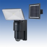 LCL-31SL(BA2) ソーラー式LED人感ライト(付属電池2個)