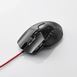 エレコム 13ボタン搭載ハイスペックゲーミングマウス M-G02URBK
