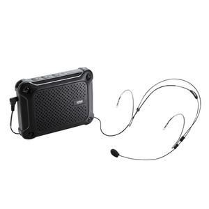 サンワサプライ MM-SPAMP6 防水ハンズフリー拡声器スピーカー