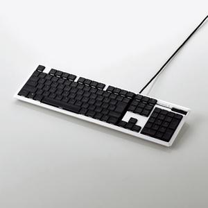 エレコム TK-ARMA50WH ARMA FPSゲーミングキーボード(フルサイズ) ホワイト