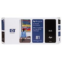 HP No.81プリントヘッド/プリンタヘッドクリーナ ブラック C4950A