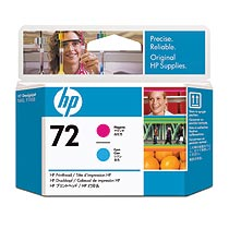 HP HP72 プリントヘッド マゼンタ/シアン C9383A