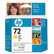 HP HP72 インクカートリッジ イエロー(69ml) C9400A