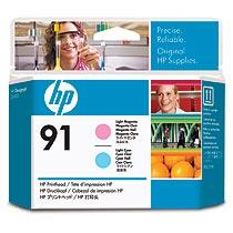 HP HP91 プリントヘッド ライトマゼンタ/ライトシアン C9462A