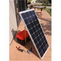 加地貿易 ソーラーパネル 12V90W フラットタイプ