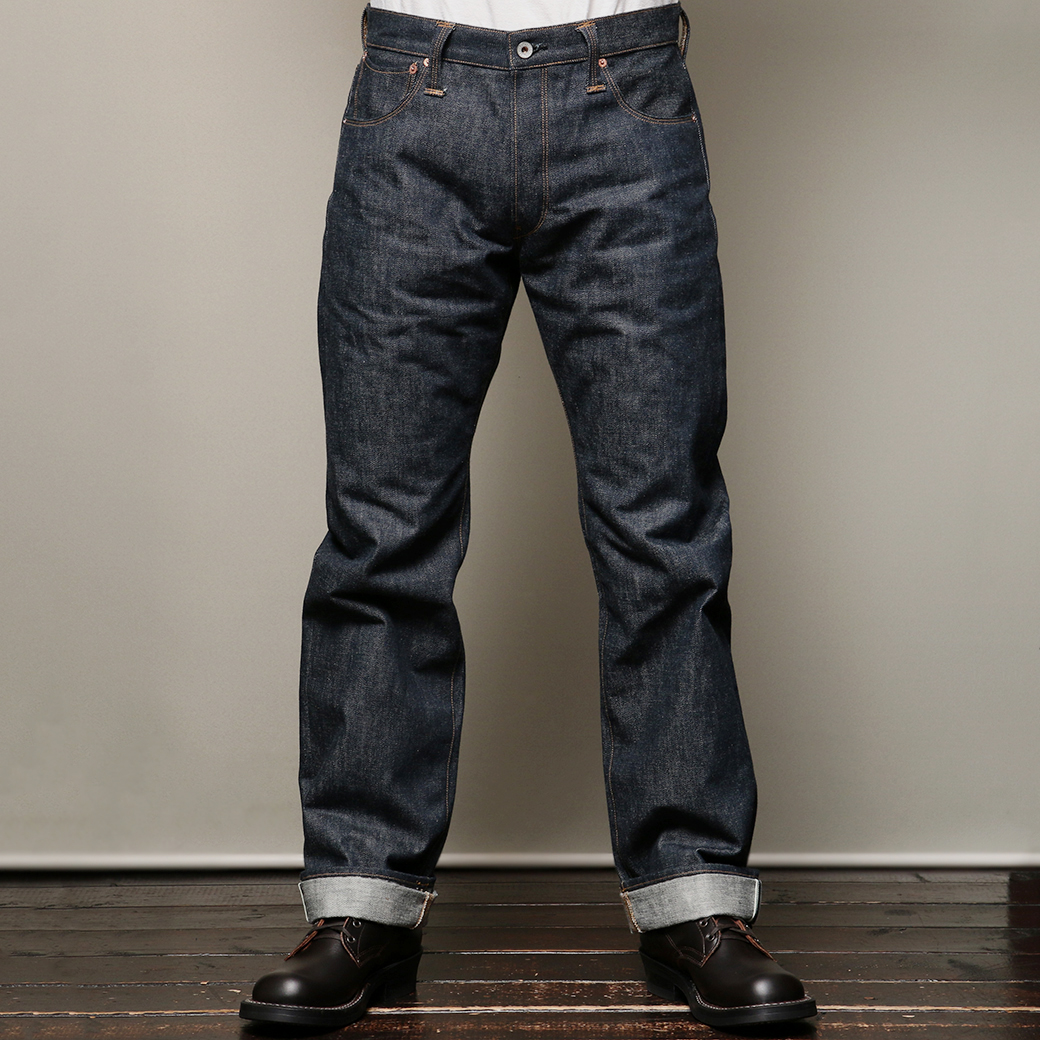 STEVENSON OVERALL CO. VENTURA LOT.737 Rigid 14oz Indigo