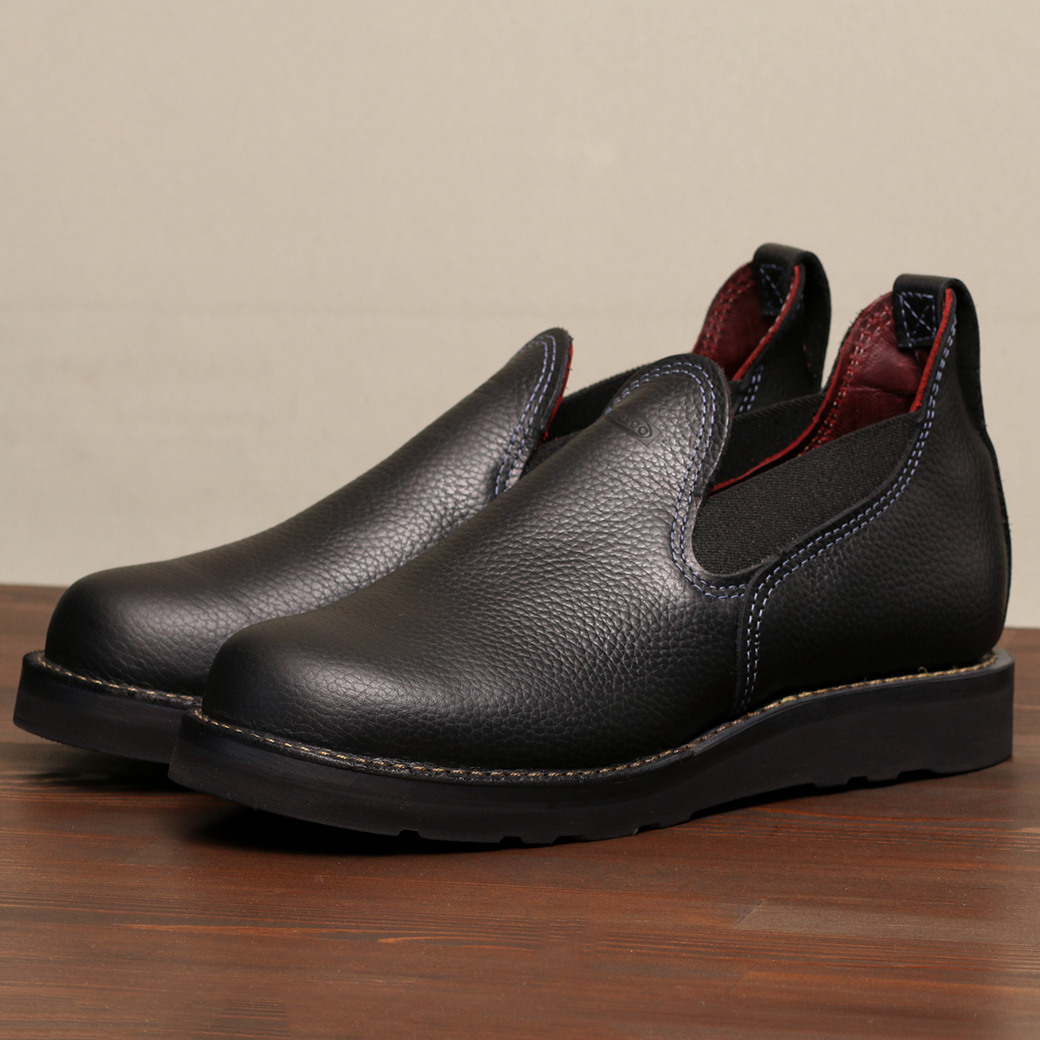 [ウエスコブーツロメオ] WESCO ROMEO Black Tie Pebble
