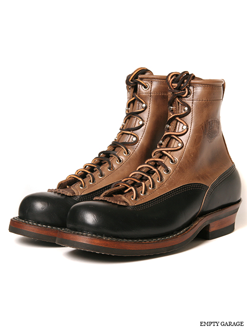 [ホワイツ]  WHITE'S BOOTS Smoke Jumper LTT Black x Natural Chromexcel