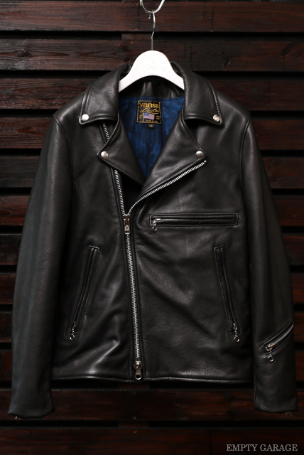 Vanson Special Custom Doulbe Riders Jacket Type BW-01W