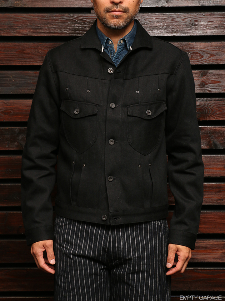 STEVENSON OVERALL CO. Slinger - 401 RIVET PLEATED WORK JACKET