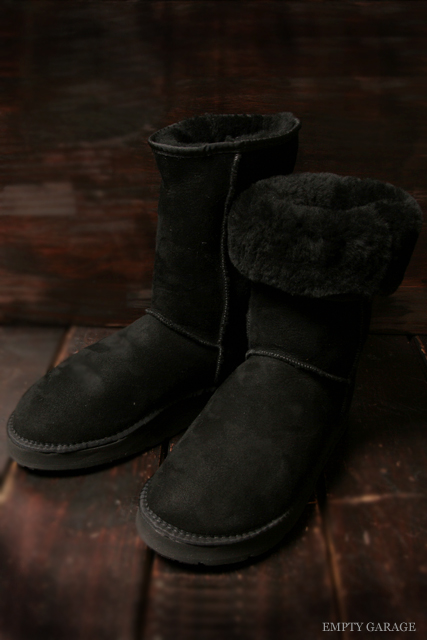 [サンダルマン] The Sandalman SNUG BOOT BLK (R) vibram sole