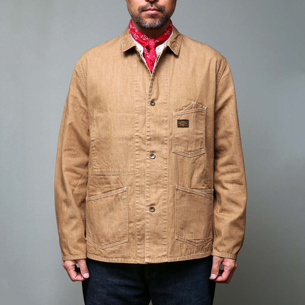 STEVENSON OVERALL CO. Golden Gate - GG1 RAILROAD JACKET 2018SS