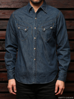 CD1 WESTERN SHIRT Washed Indigo
