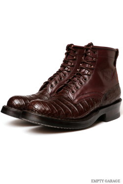 [ホワイツ] WHITE'S BOOTS Classic Lace up Boot C461 Last Brown Caiman [ワニ革]