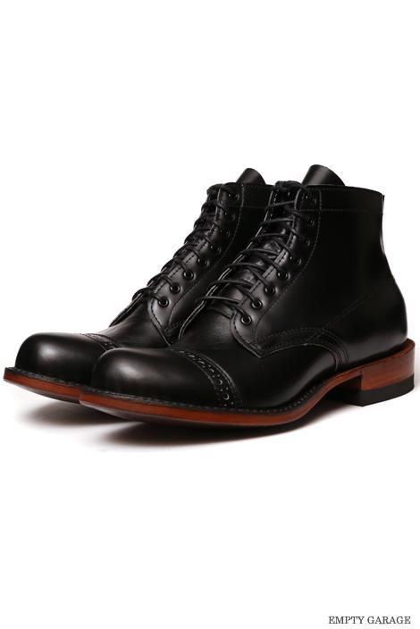 [ホワイツ] WHITE'S BOOTS SEMI DRESS Straight Tip Custom Black Calf
