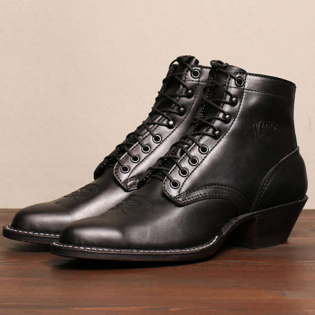 [ホワイツ] WHITE'S BOOTS Packer 695 Last Black カーフスキン