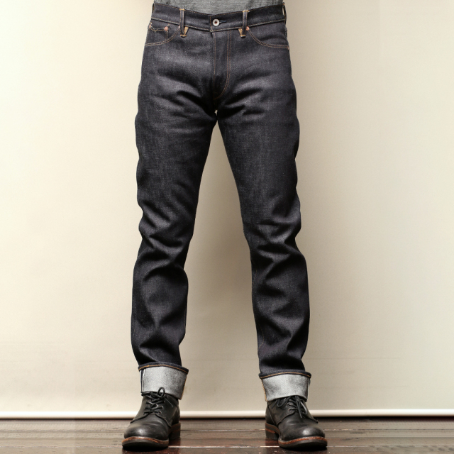 Stevenson Overall Co. Big Sur - 210 SLIM TAPERED LEG Original 14oz Sanforized Denim Pants