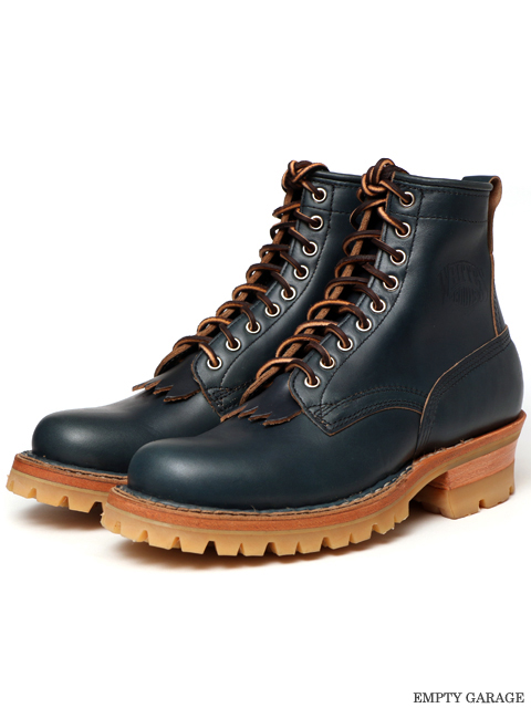 [ホワイツ] WHITE'S BOOTS Smoke Jumper Honey Sole Navy Chromexcel