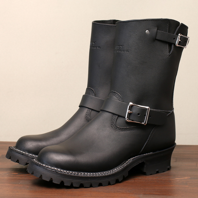 [ホワイツ] WHITE'S BOOTS NOMAD MB9165 10 TOP Black #100
