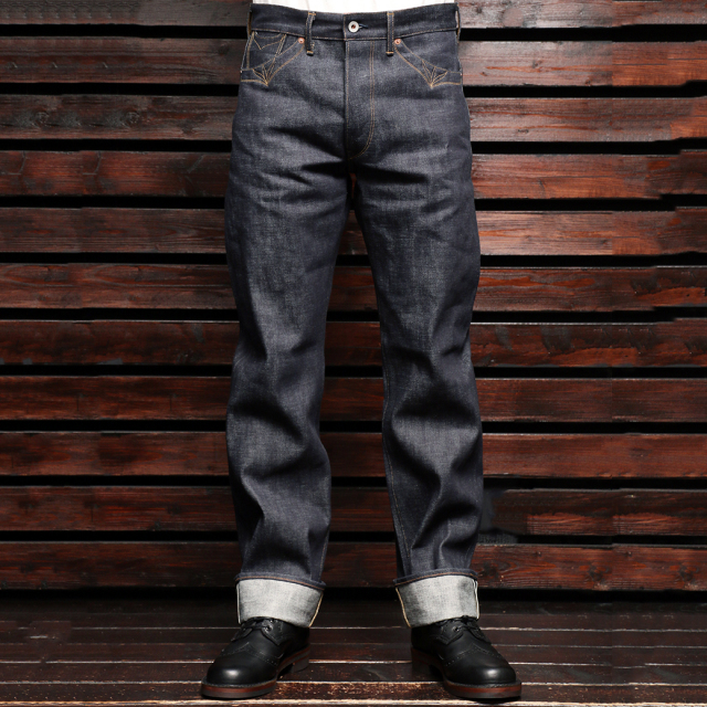 STEVENSON OVERALL CO. Grass Valley Denim Pants LOT. 350 14oz Selvage Denim スティーブンソン グラスバレー デニムパンツ