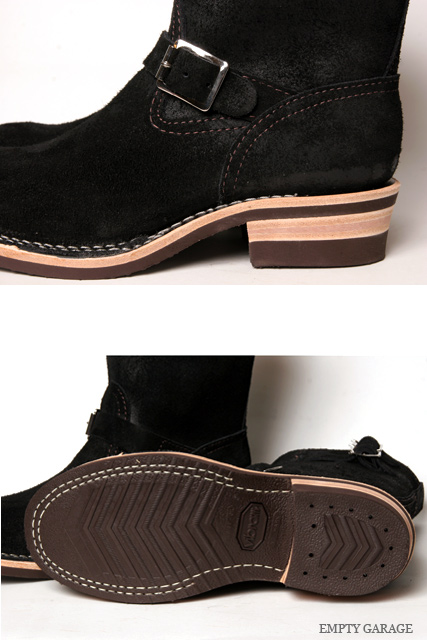 WESCO BOSS BLACK ROUGH OUT ウエスコ ボス