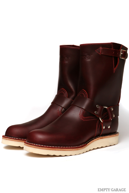 [ウエスコ] WESCO BOOTS THE BOSS w/ Harness Strap Burgundy